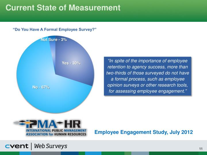 Current State of Measurement