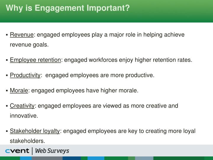 Why is Engagement Important?