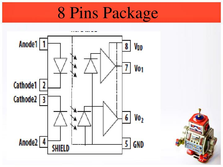 8 Pins Package