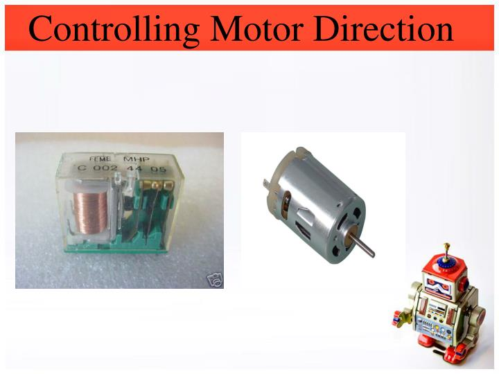 Controlling Motor Direction