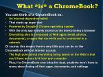what is a chromebook2