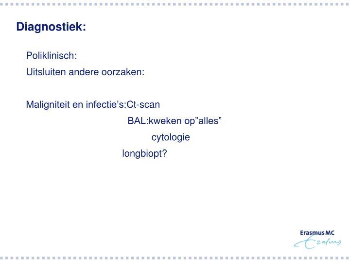 Diagnostiek: