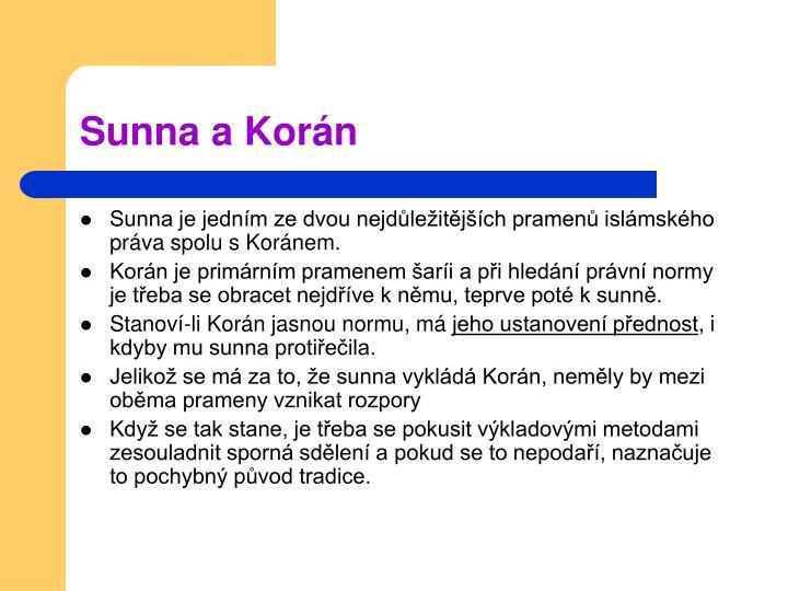Sunna a Korán