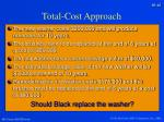 total cost approach1