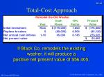 total cost approach3