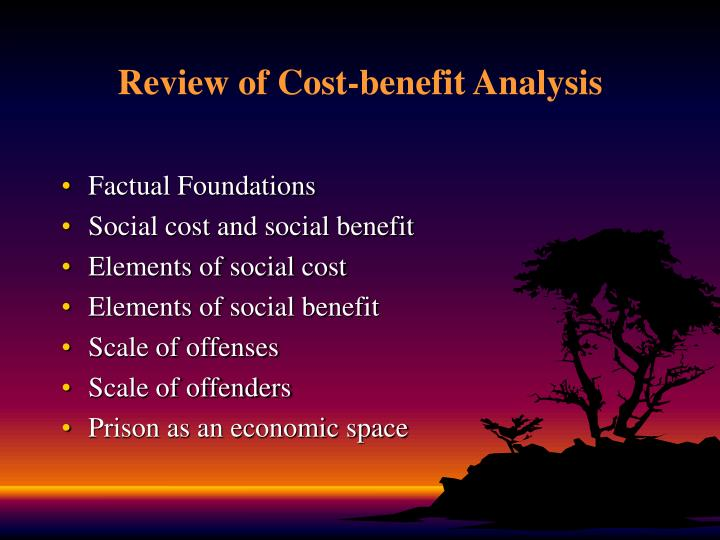cost benefit analysis economics essay Essay preview an 'economic cost-benefit analysis' approach to reasoning sees actions favoured and chosen if the benefit outweighs the cost here, the benefits and costs are in the form of economic benefits and costs, such as, monetary loss or profit.