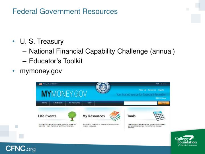 Federal Government Resources