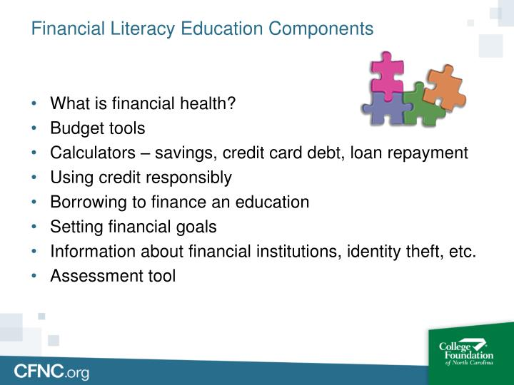 Financial Literacy Education Components