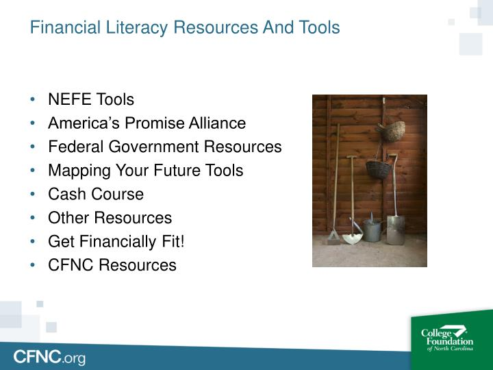 Financial Literacy Resources And Tools