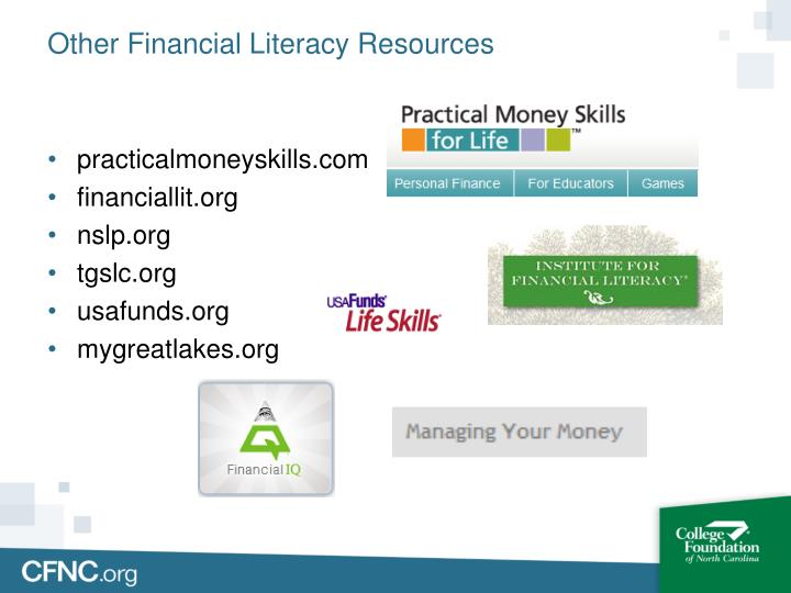 Other Financial Literacy Resources