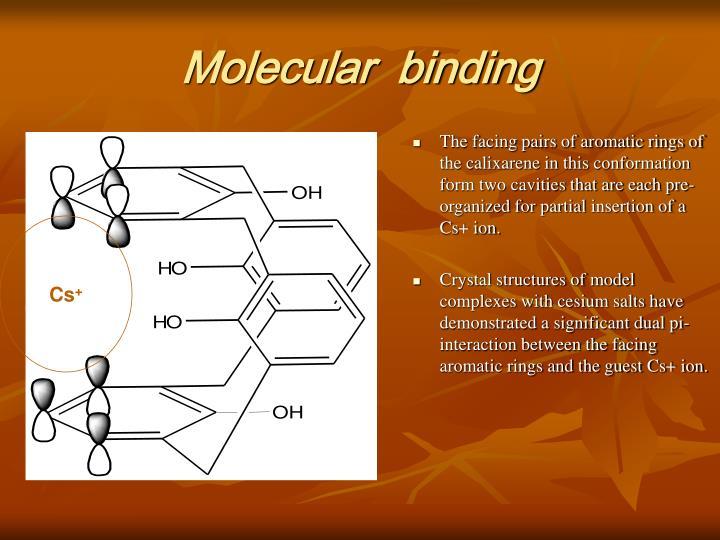 Molecular  binding