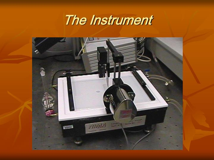 The Instrument