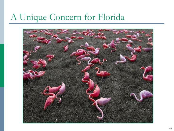 A Unique Concern for Florida