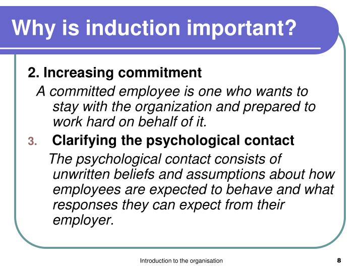 Why is induction important?