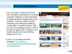 the travel organization