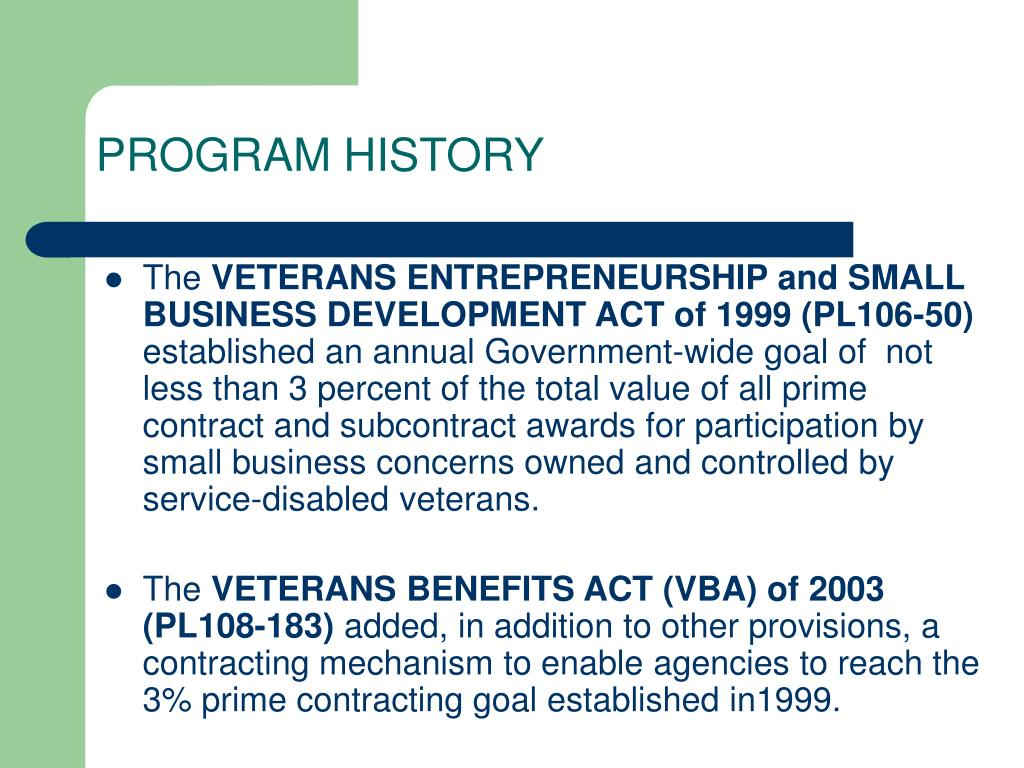 PPT - U S  Small Business Administration PowerPoint