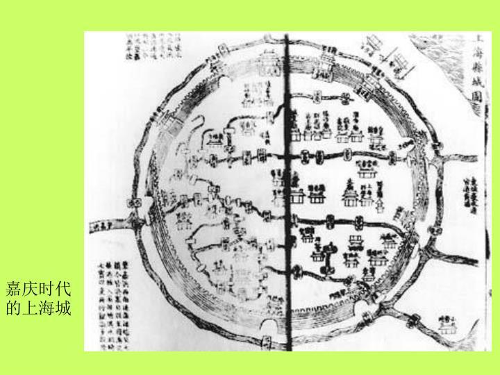 嘉庆时代的上海城