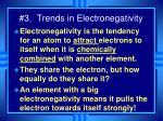 3 trends in electronegativity