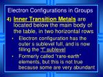 electron configurations in groups4