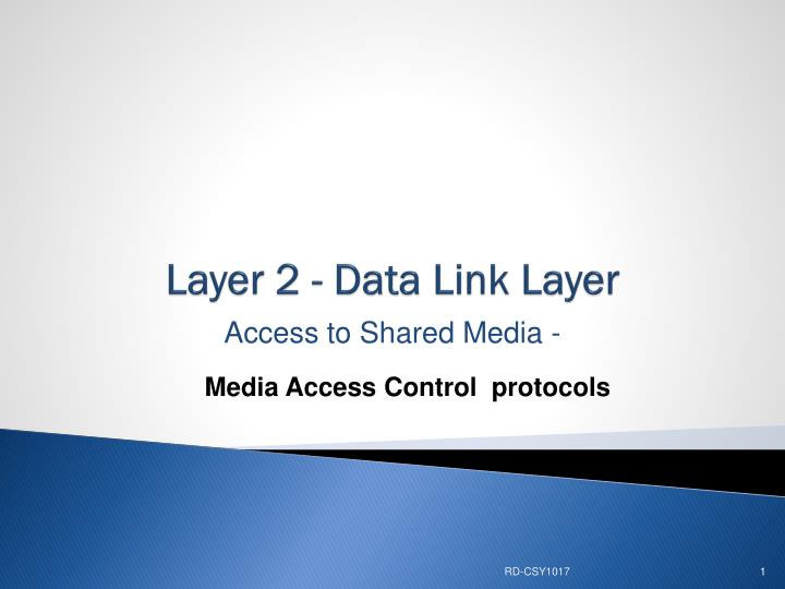 layer 2 data link layer n.