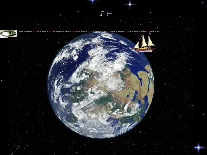 海面上从远方驶来的帆船