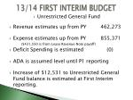 13 14 first interim budget2