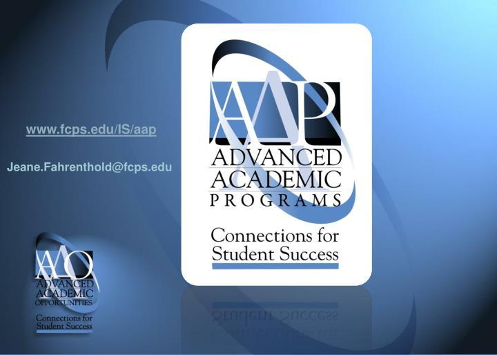 www.fcps.edu/IS/aap