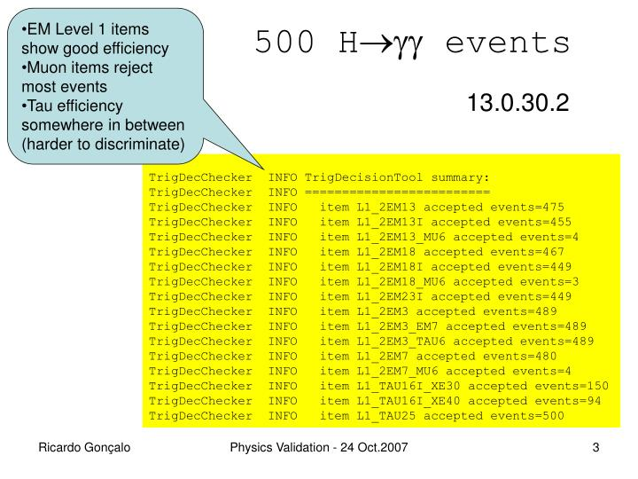 500 h events