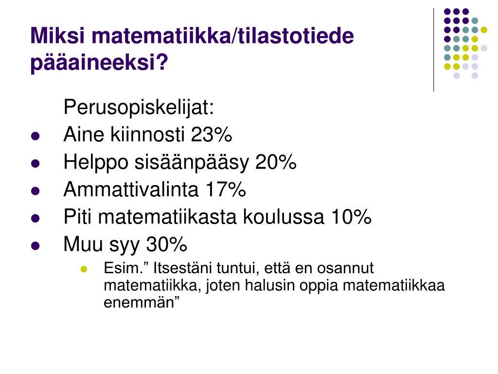 Tilastotiede