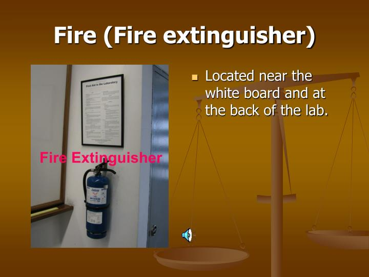 Fire (Fire extinguisher)