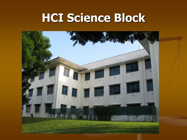 Hci science block