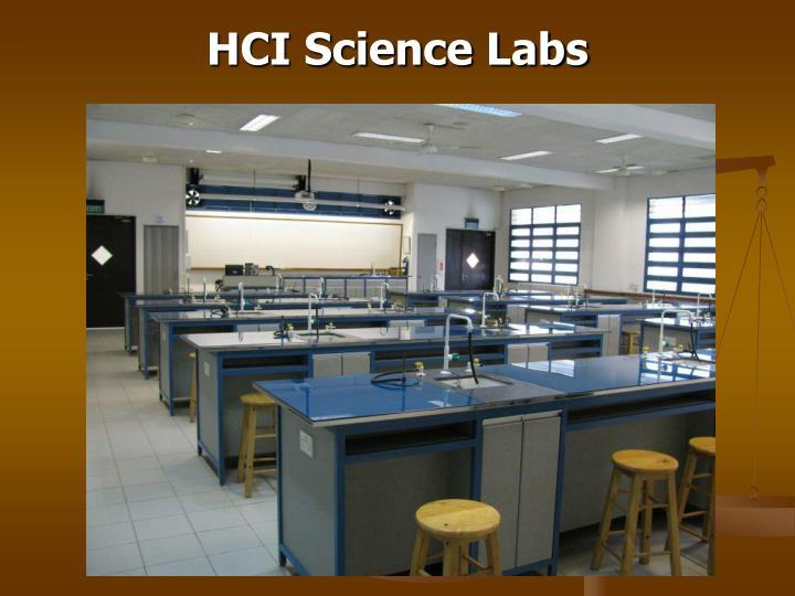 HCI Science Labs