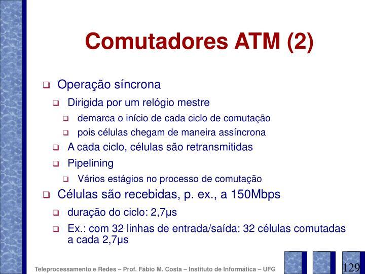 Comutadores ATM (2)