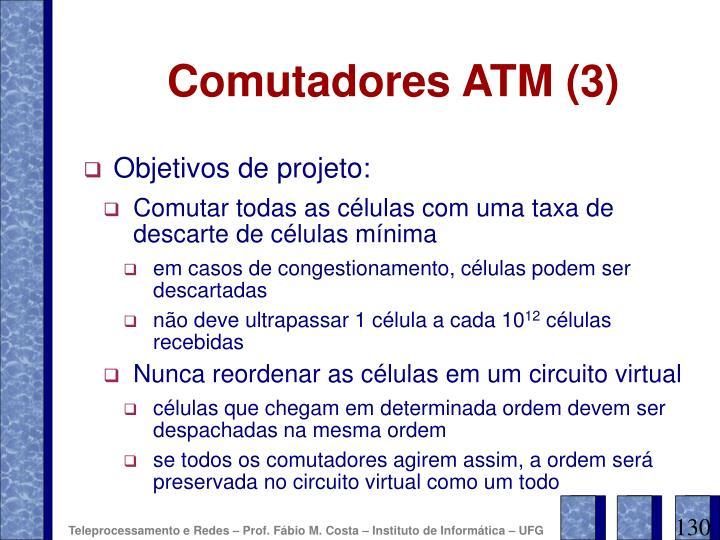 Comutadores ATM (3)