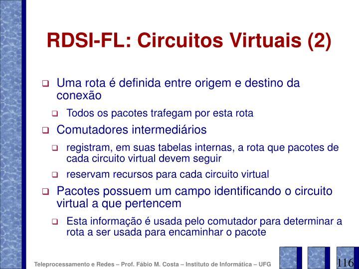 RDSI-FL: Circuitos Virtuais (2)