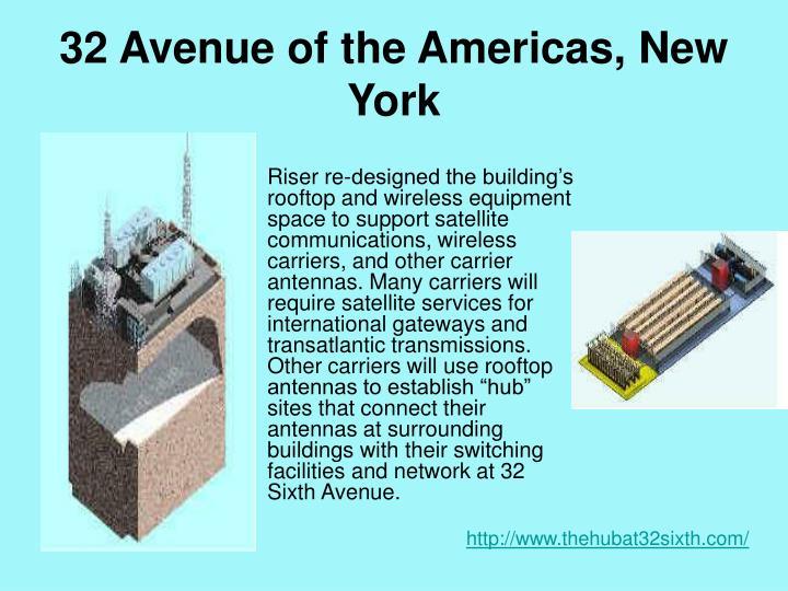 32 Avenue of the Americas, New York