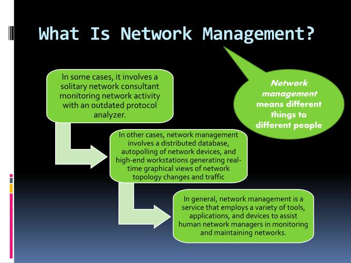 What Is Network Management