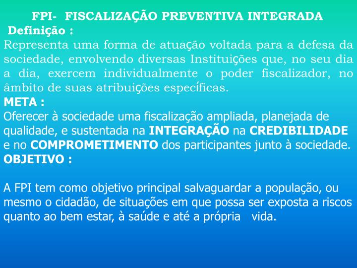 FPI-  FISCALIZA