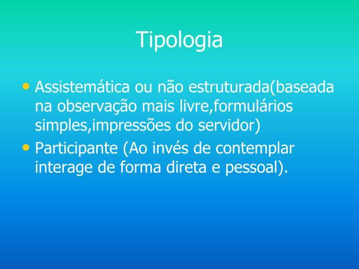 Tipologia