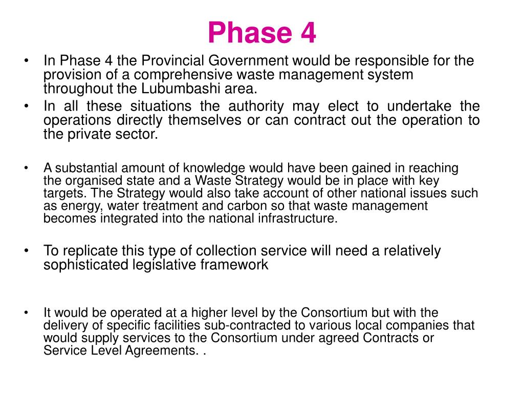 PPT - Lubumbashi -DRC Waste Management Project PowerPoint