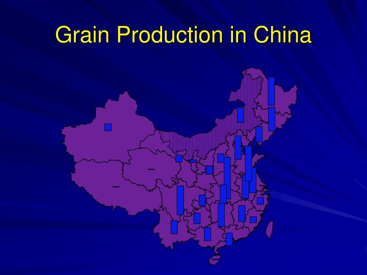 Grain Production in China