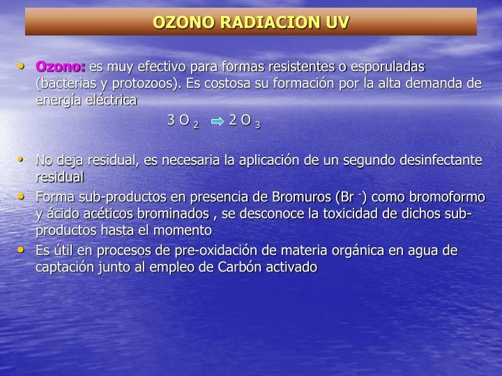 OZONO RADIACION UV