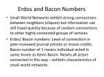 erdos and bacon numbers
