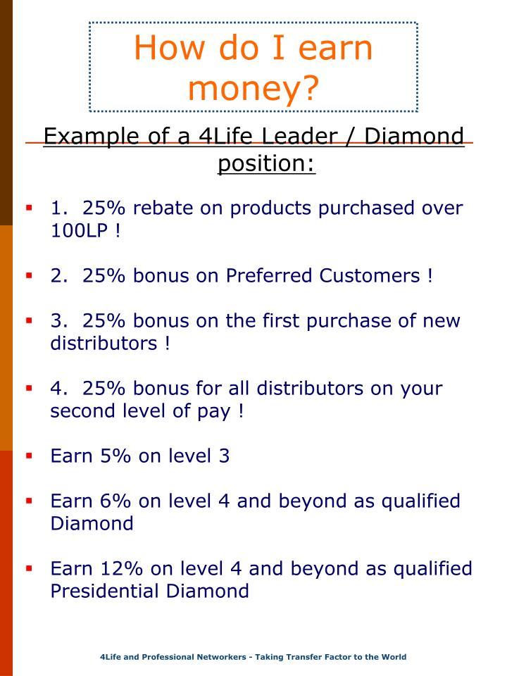 How do I earn money?