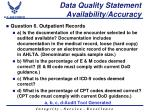 data quality statement availability accuracy2
