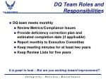 dq team roles and responsibilities1