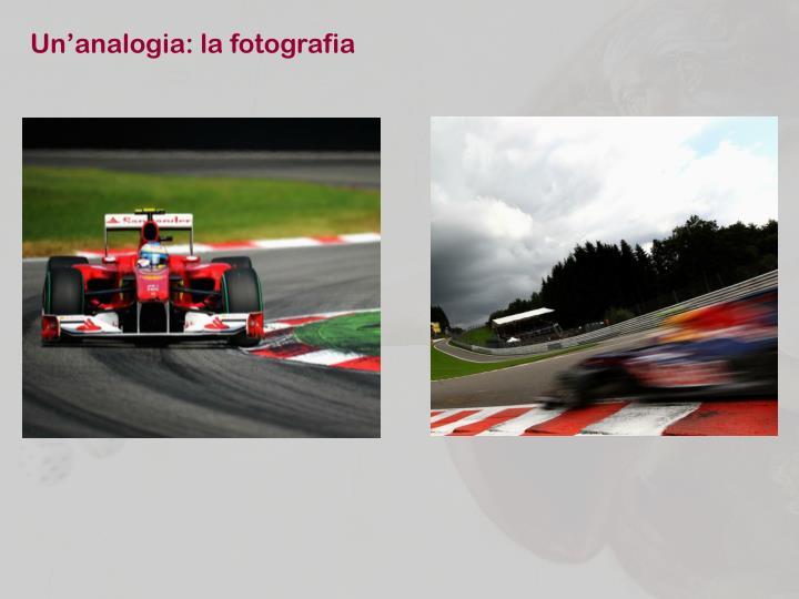 Un'analogia: la fotografia