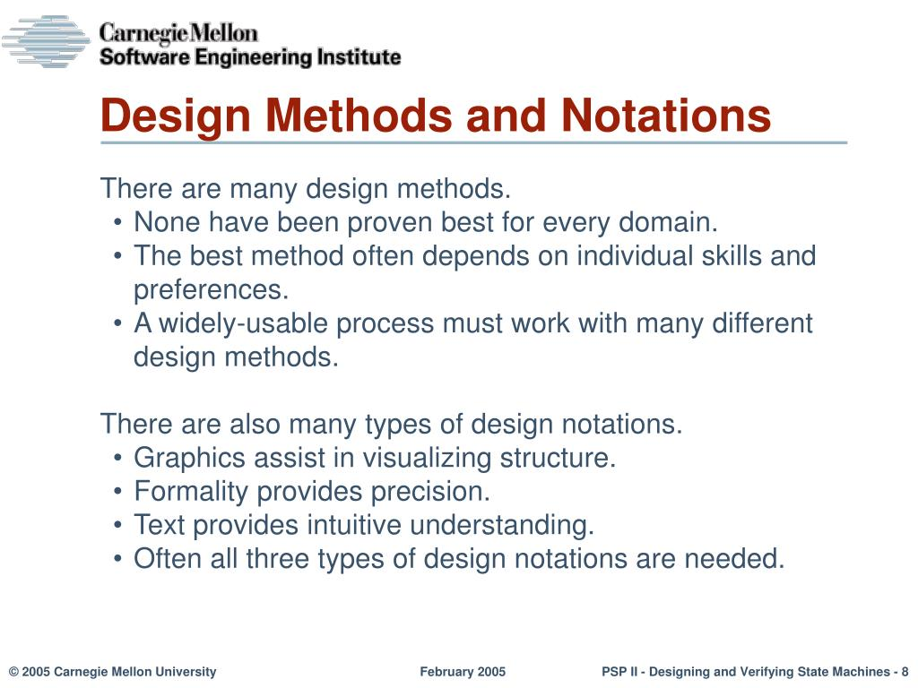 Ppt Personal Software Process For Engineers Part Ii Designing And Verifying State Machines Powerpoint Presentation Id 5928886