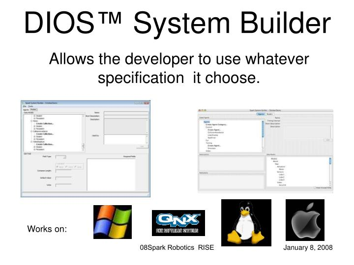 DIOS™ System Builder