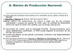 a bienes de producci n nacional